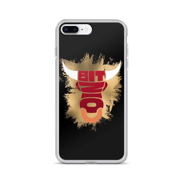 Bitcoin Bull iPhone Case iPhone 7 Plus/8 Plus  - zeroconfs