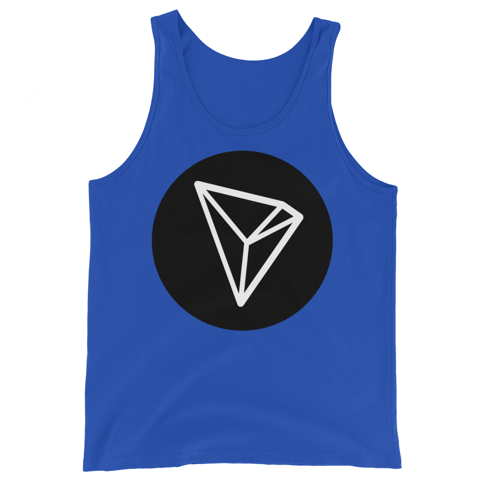 Tron Tank Top True Royal XS - zeroconfs