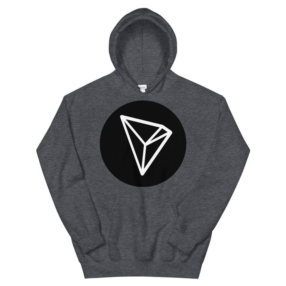 Tron Hooded Sweatshirt Dark Heather S - zeroconfs
