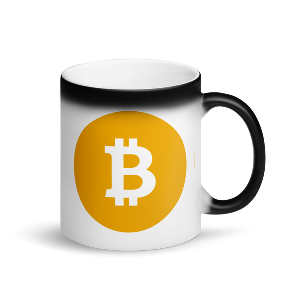 Bitcoin SV Logo Magic Mug Default Title  - zeroconfs