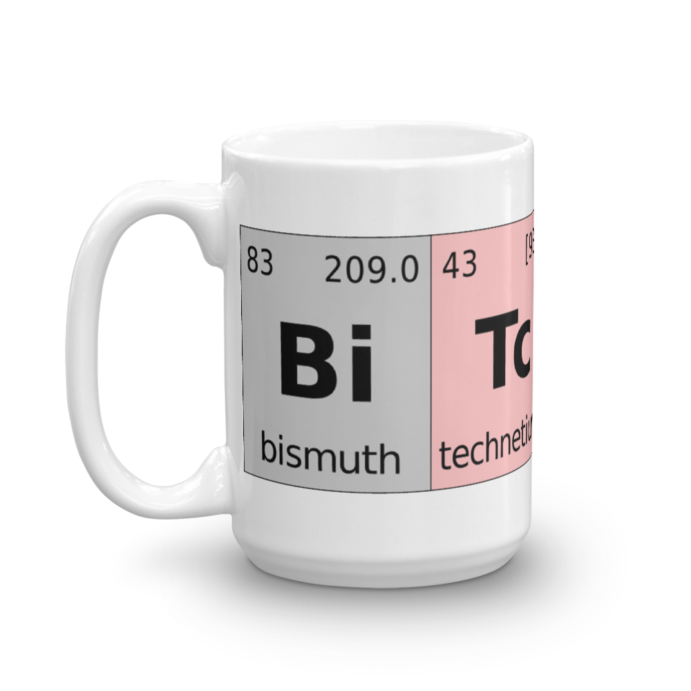 Bitcoin Periodic Table Coffee Mug   - zeroconfs