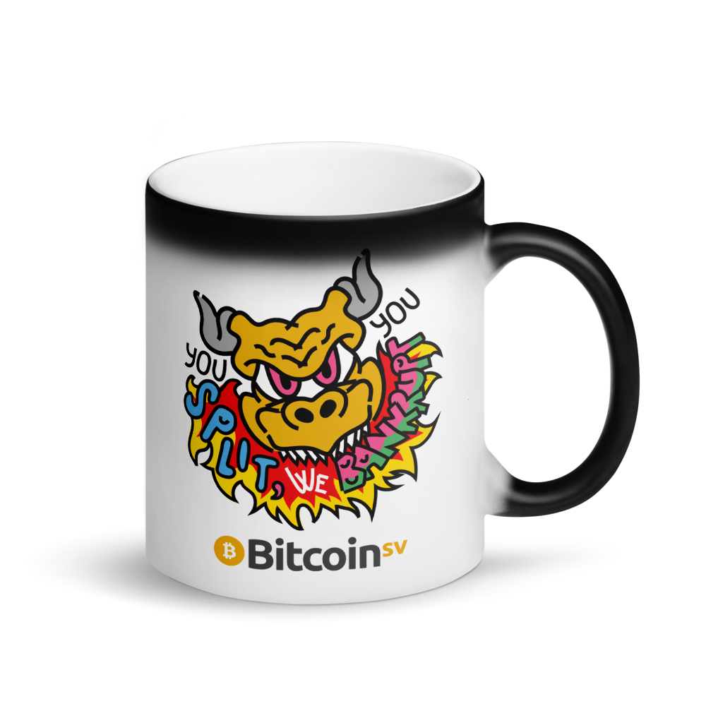 You Split Bitcoin SV Magic Mug Default Title  - zeroconfs