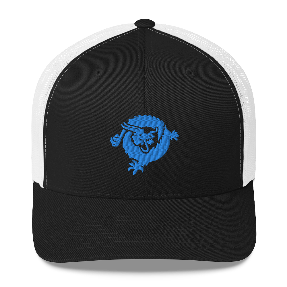 Bitcoin SV Dragon Trucker Cap Blue Black/ White  - zeroconfs