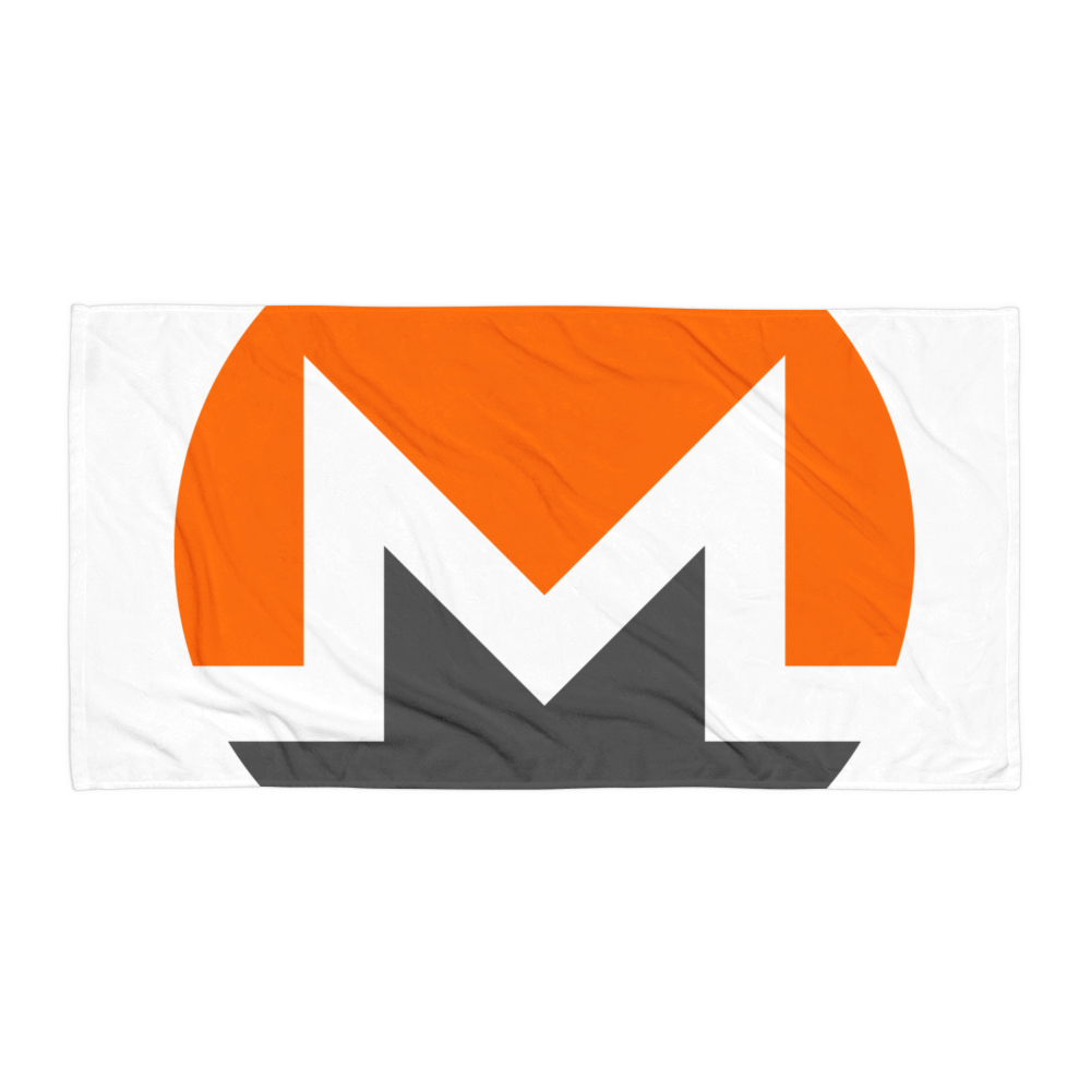 Monero Beach Towel Default Title  - zeroconfs