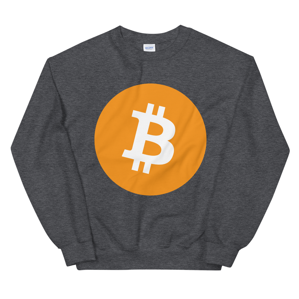 Bitcoin Core Women's Sweatshirt Dark Heather S - zeroconfs