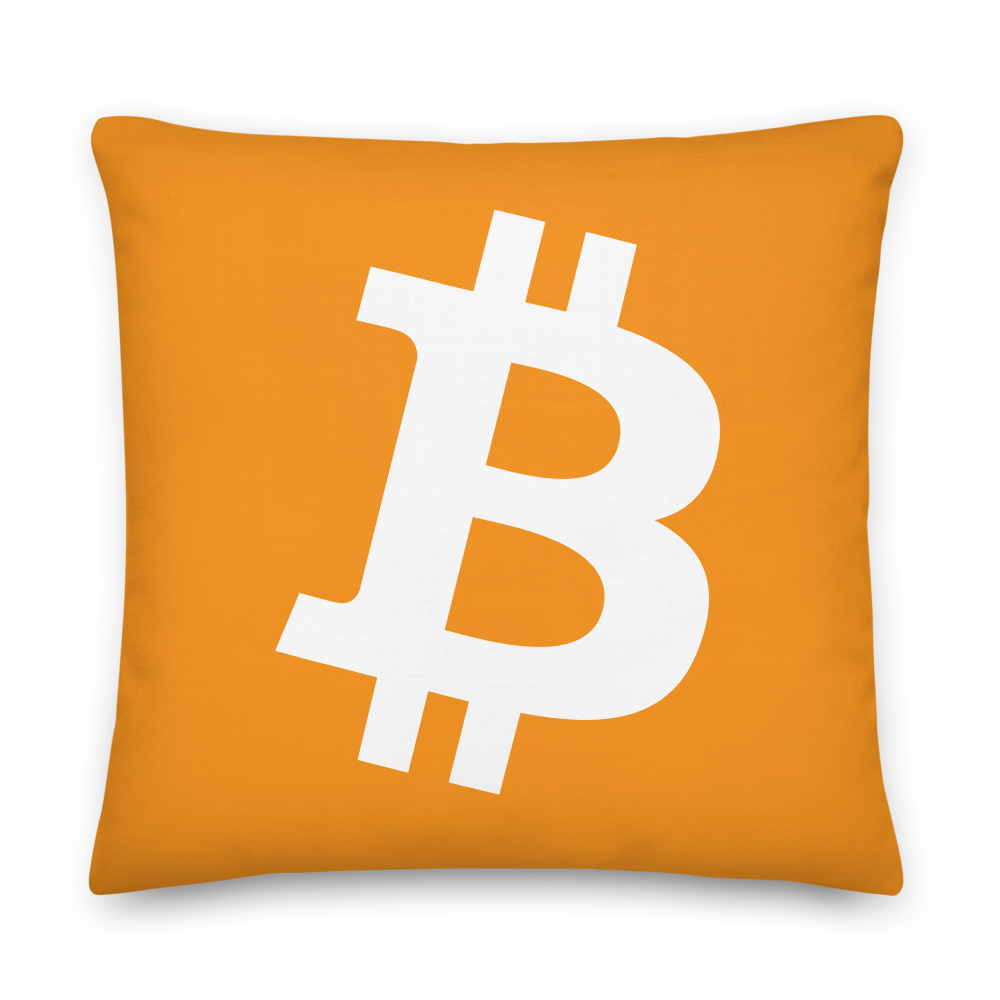 Bitcoin Core Premium Pillow 22×22  - zeroconfs