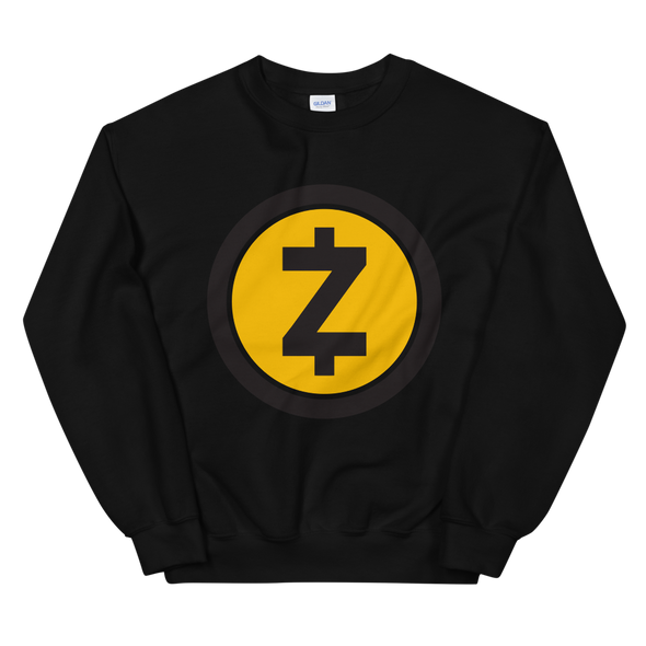 Zcash Sweatshirt Black S - zeroconfs