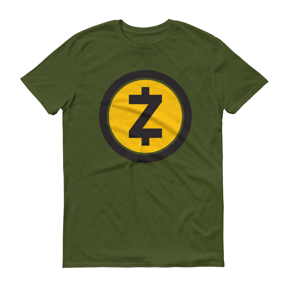 Zcash Short-Sleeve T-Shirt City Green S - zeroconfs