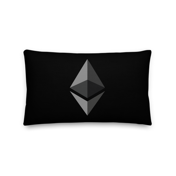 Ethereum Premium Pillow 20×12  - zeroconfs