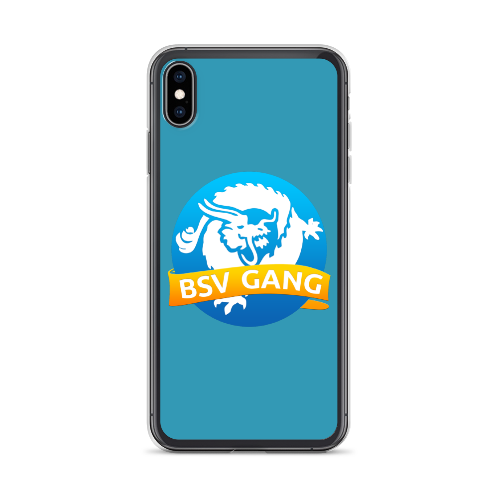 Bitcoin SV Gang iPhone Case Blue iPhone XS Max  - zeroconfs