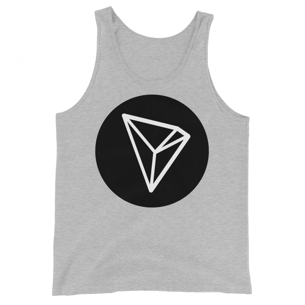Tron Tank Top Athletic Heather XS - zeroconfs