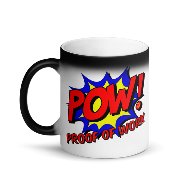 Proof Of Work Bitcoin SV Magic Mug   - zeroconfs