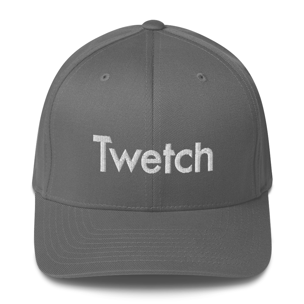 Twetch Flexfit Cap Grey S/M - zeroconfs