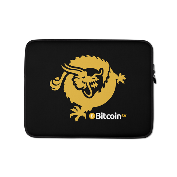 Bitcoin SV Dragon Laptop Sleeve 13 in  - zeroconfs