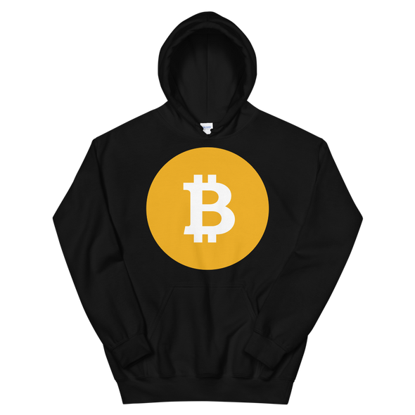 Bitcoin SV Logo Hooded Sweatshirt Black S - zeroconfs