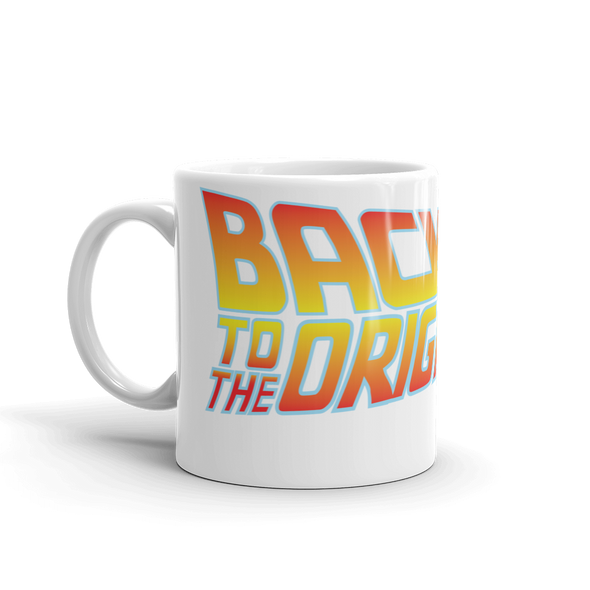 Back To The Original Bitcoin Protocol Coffee Mug   - zeroconfs