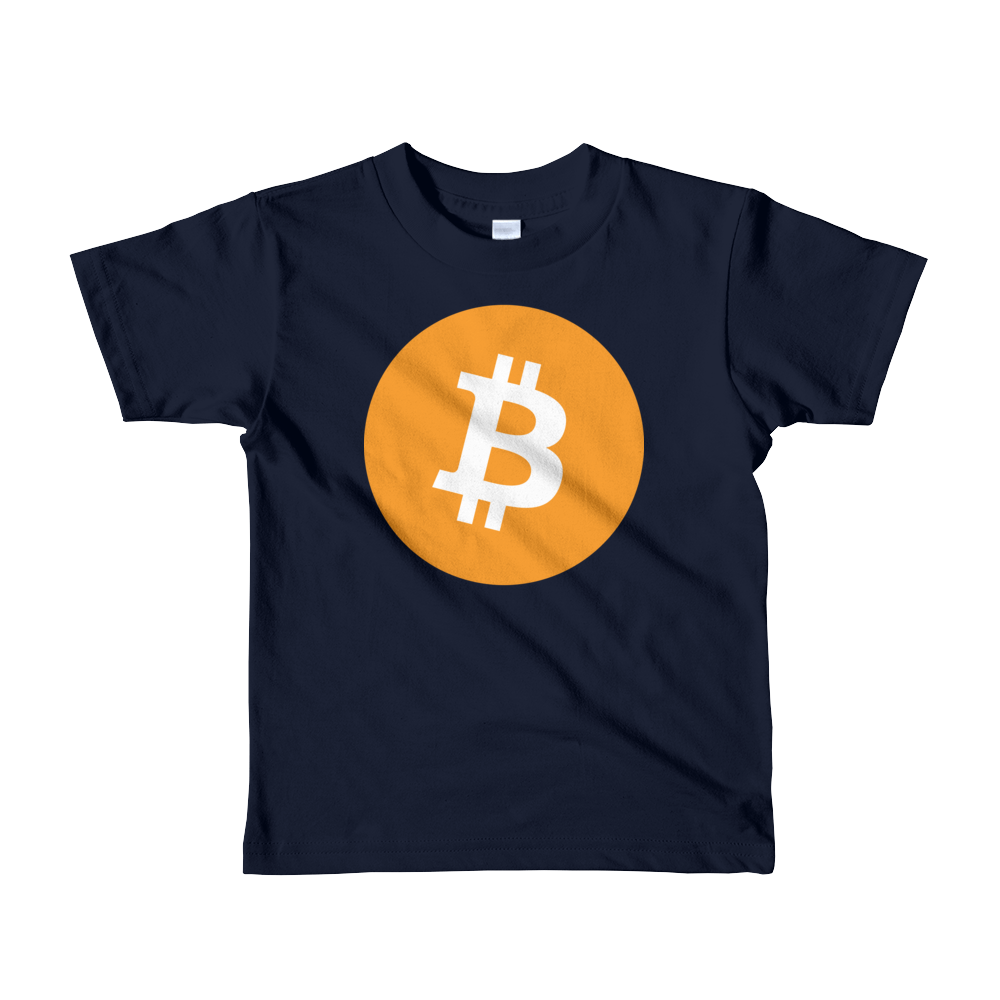 Bitcoin Core Short Sleeve Kids T-Shirt Navy 2yrs - zeroconfs