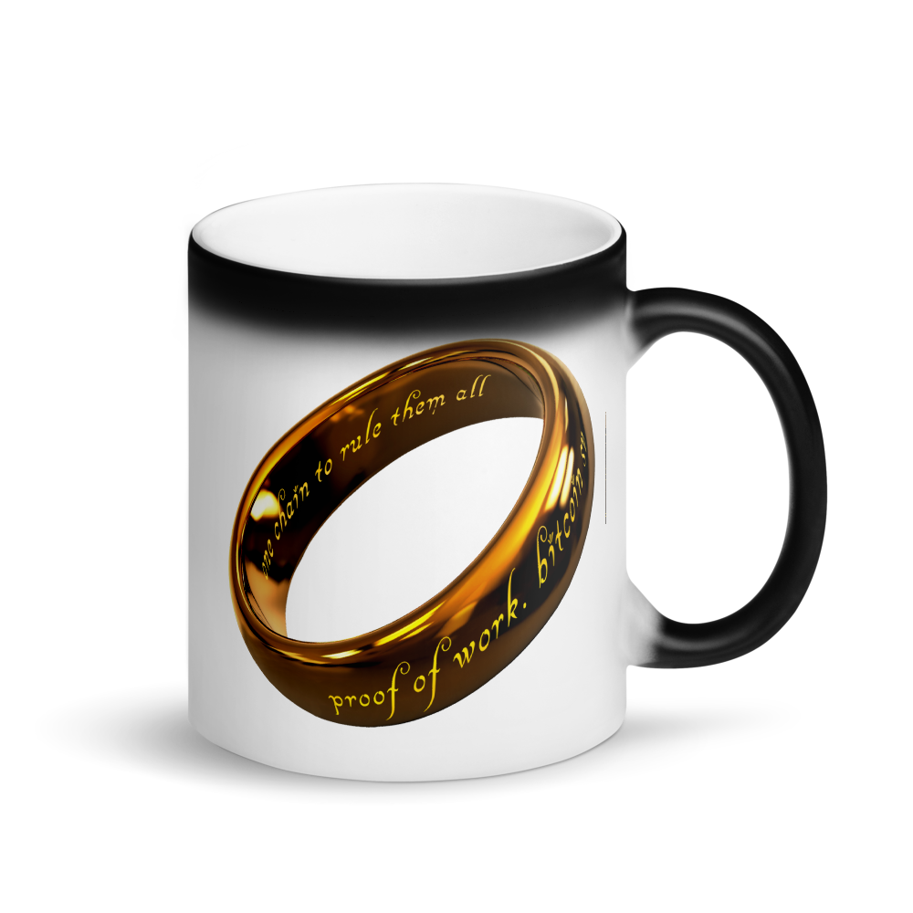 One Chain To Rule Them All Bitcoin SV Magic Mug Default Title  - zeroconfs