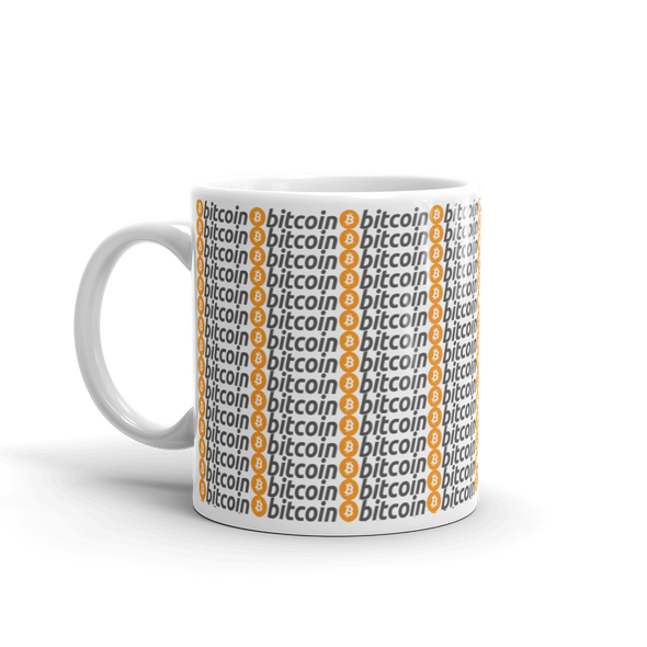 Bitcoins Coffee Mug   - zeroconfs
