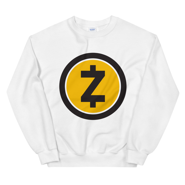 Zcash Sweatshirt White S - zeroconfs