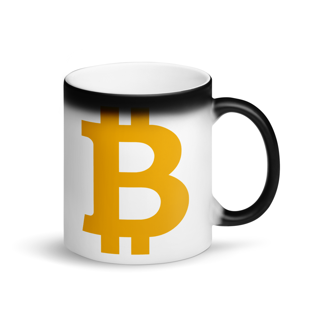 Bitcoin B Magic Mug Default Title  - zeroconfs