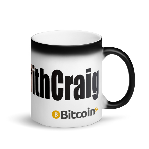 #IStandWithCraig Bitcoin SV Magic Mug Default Title  - zeroconfs