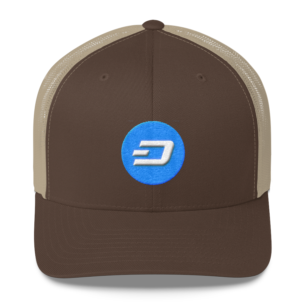 Dash Trucker Cap Brown/ Khaki  - zeroconfs