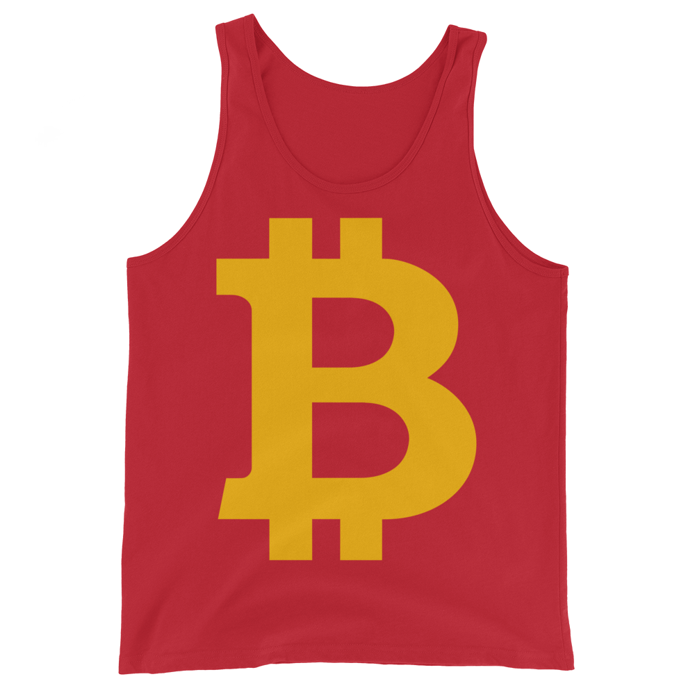 Bitcoin B Tank Top Red XS - zeroconfs