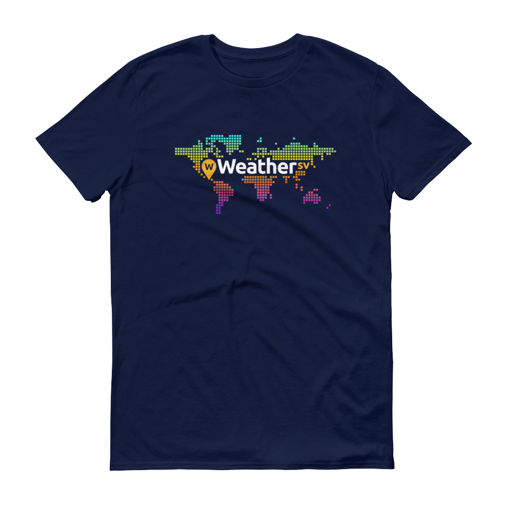Weather SV Short-Sleeve T-Shirt Navy S - zeroconfs
