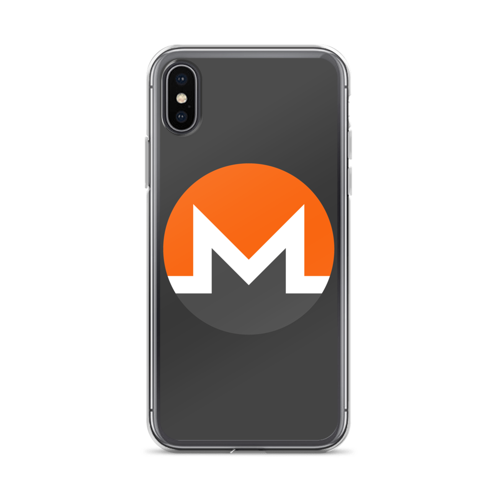 Monero iPhone Case iPhone X/XS  - zeroconfs