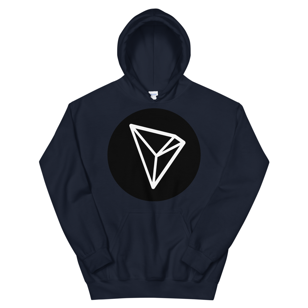 Tron Hooded Sweatshirt Navy S - zeroconfs
