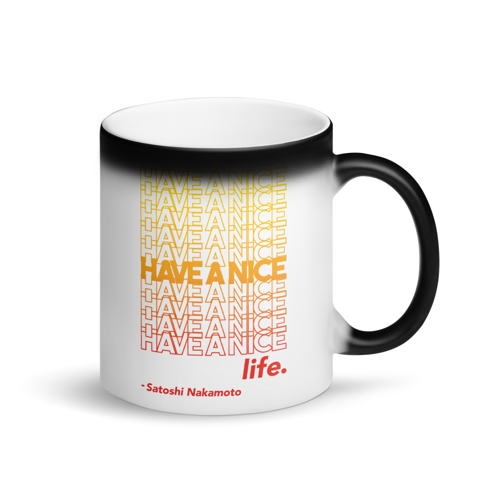 Have A Nice Life Bitcoin SV Magic Mug Default Title  - zeroconfs