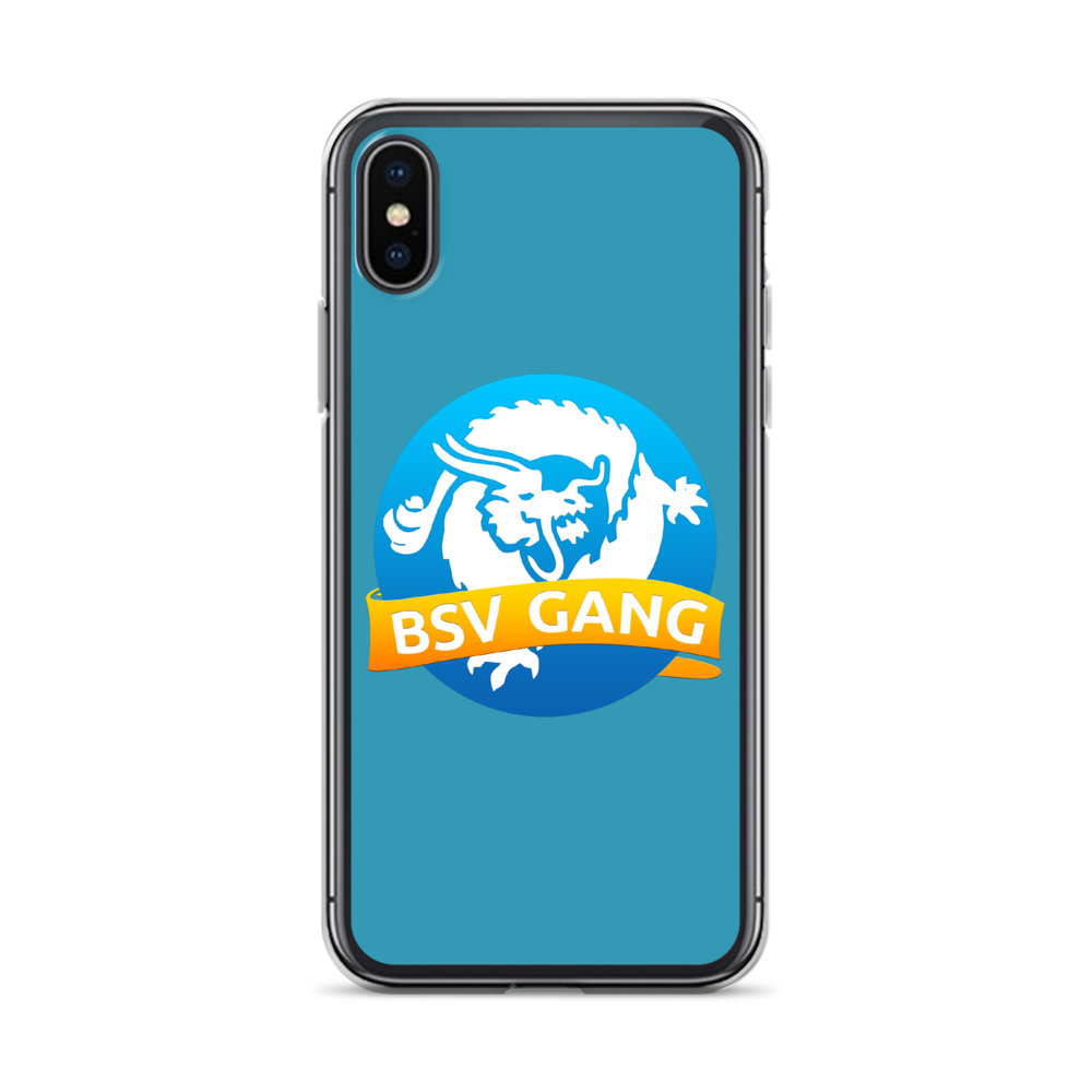 Bitcoin SV Gang iPhone Case Blue iPhone X/XS  - zeroconfs