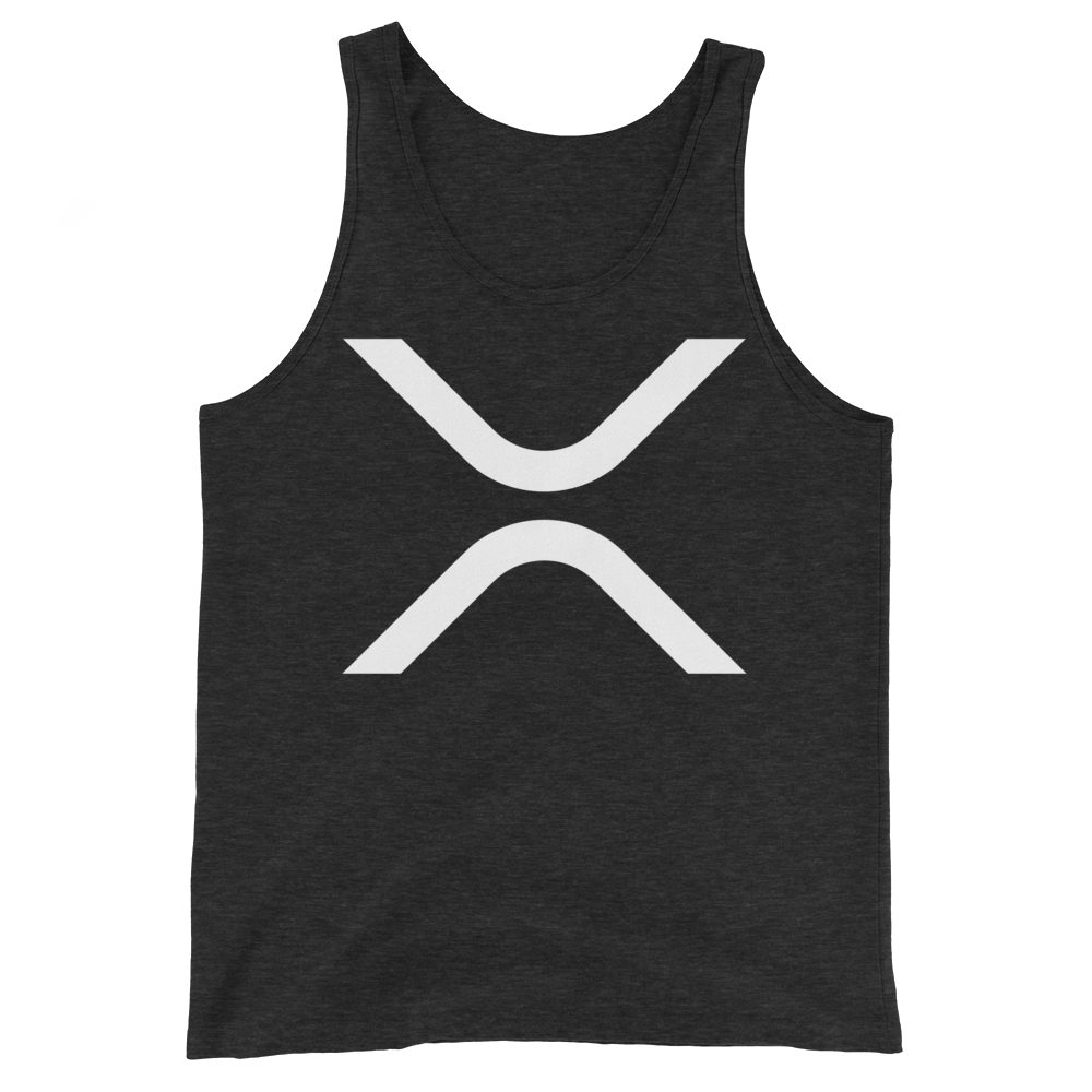 Ripple Tank Top Charcoal-Black Triblend XS - zeroconfs