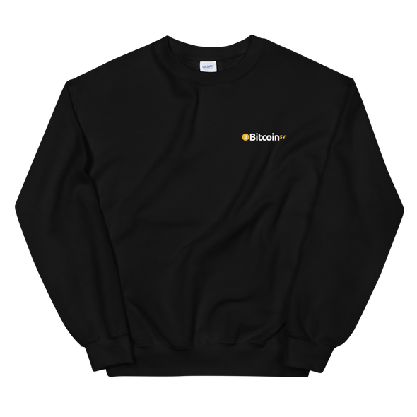 Bitcoin SV Woken Dragon Sweatshirt Back Black S - zeroconfs
