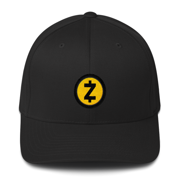 Zcash Flexfit Cap Black S/M - zeroconfs