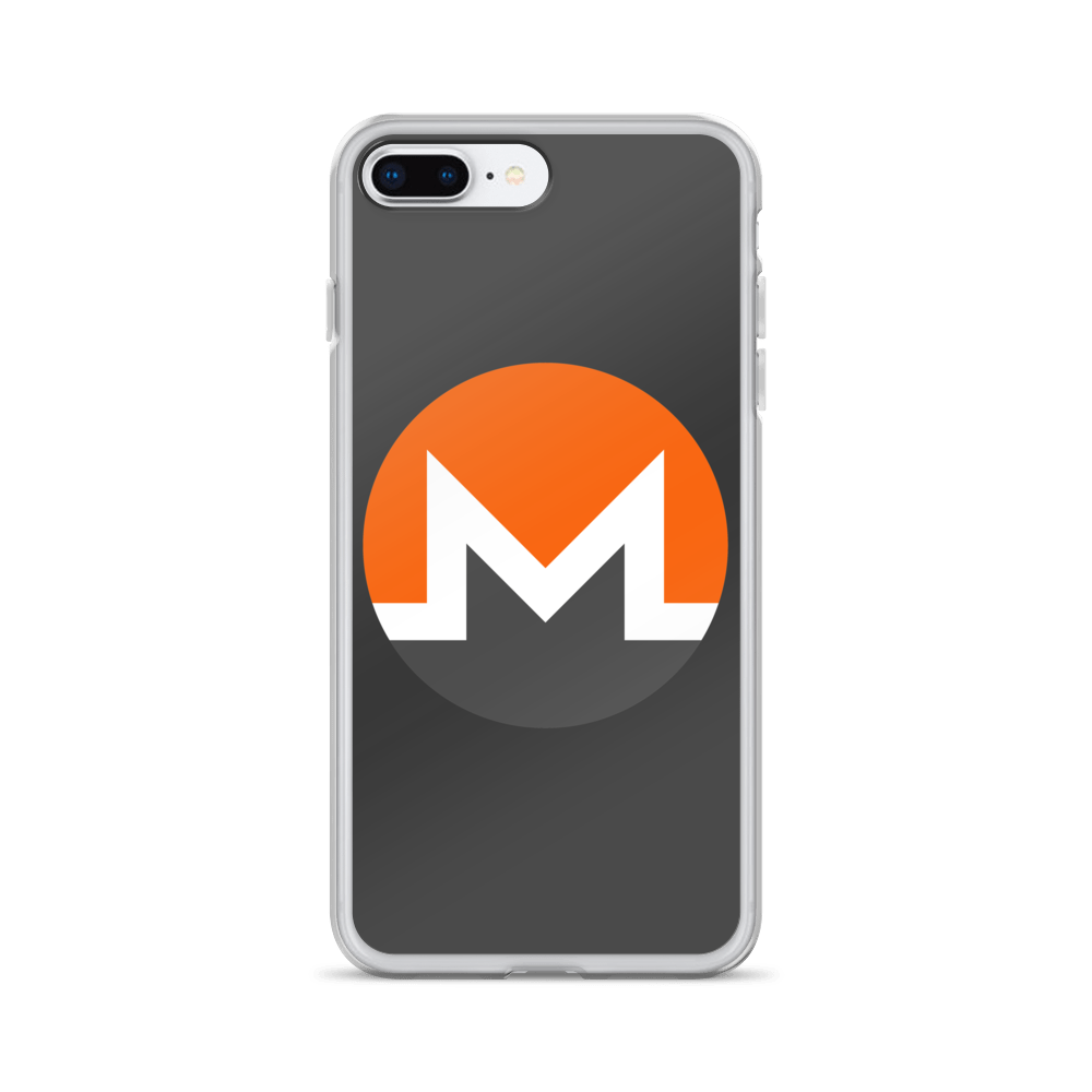 Monero iPhone Case iPhone 7 Plus/8 Plus  - zeroconfs