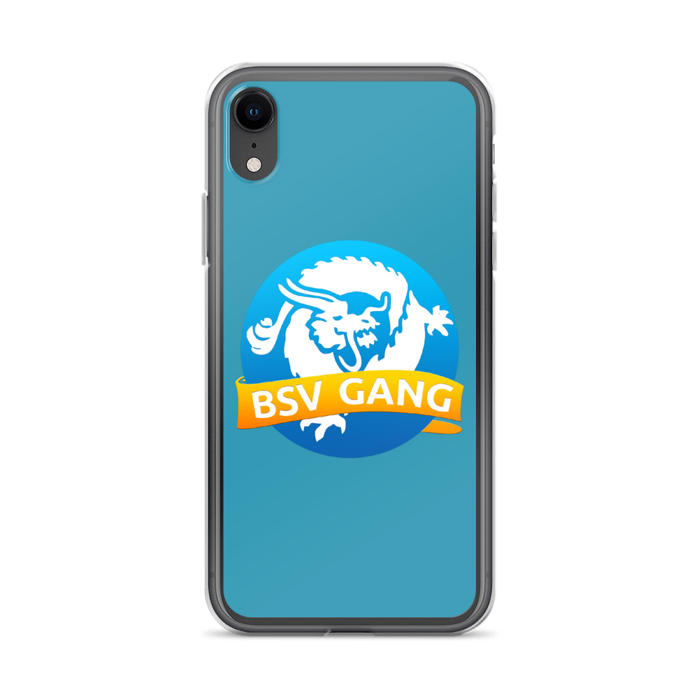 Bitcoin SV Gang iPhone Case Blue iPhone XR  - zeroconfs