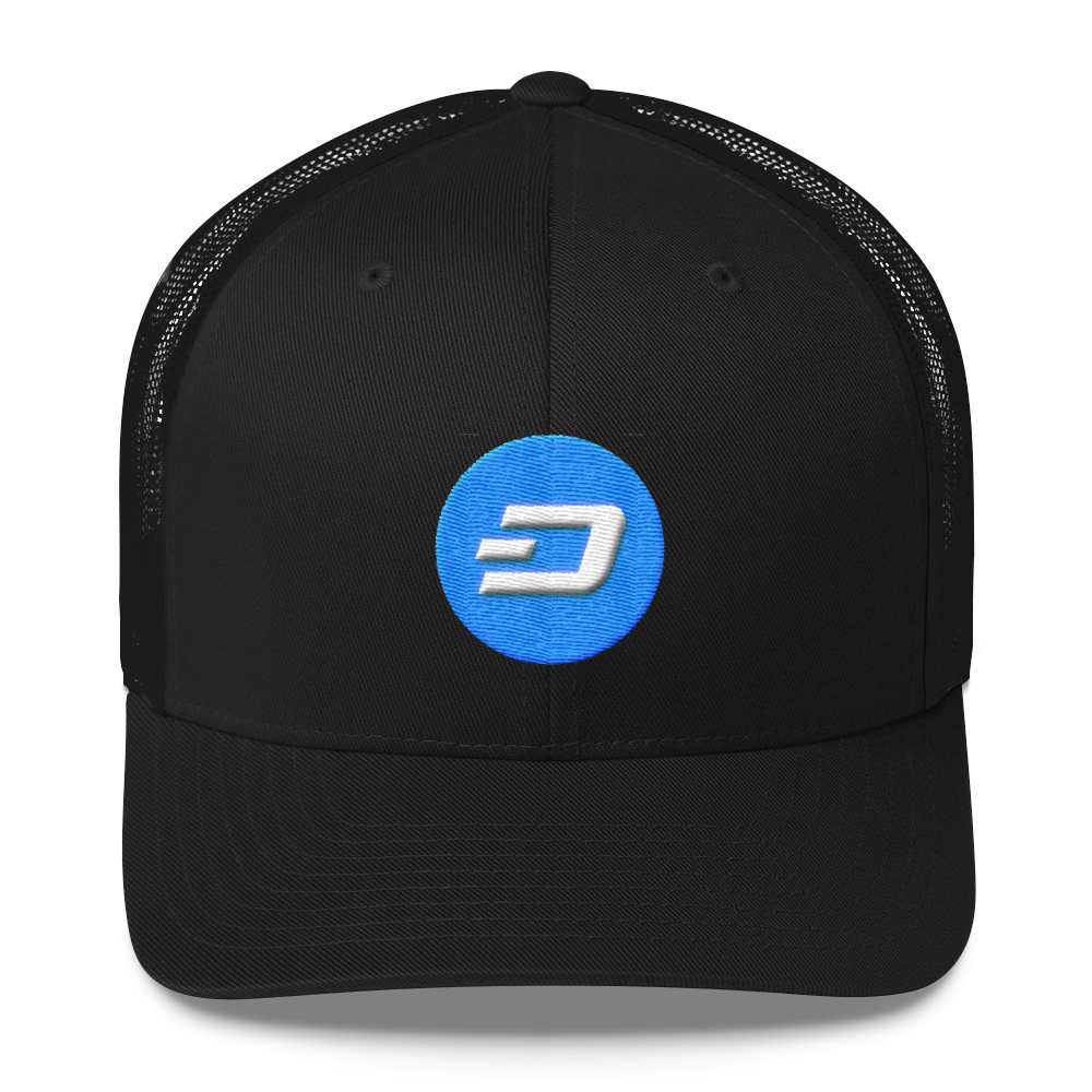 Dash Trucker Cap Black  - zeroconfs