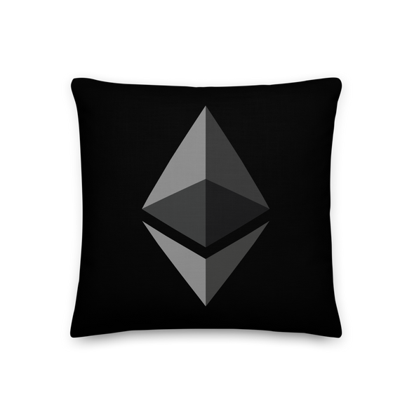 Ethereum Premium Pillow 18×18  - zeroconfs