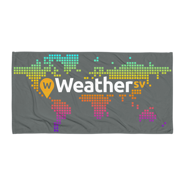 Weather SV Beach Towel Gray Default Title  - zeroconfs
