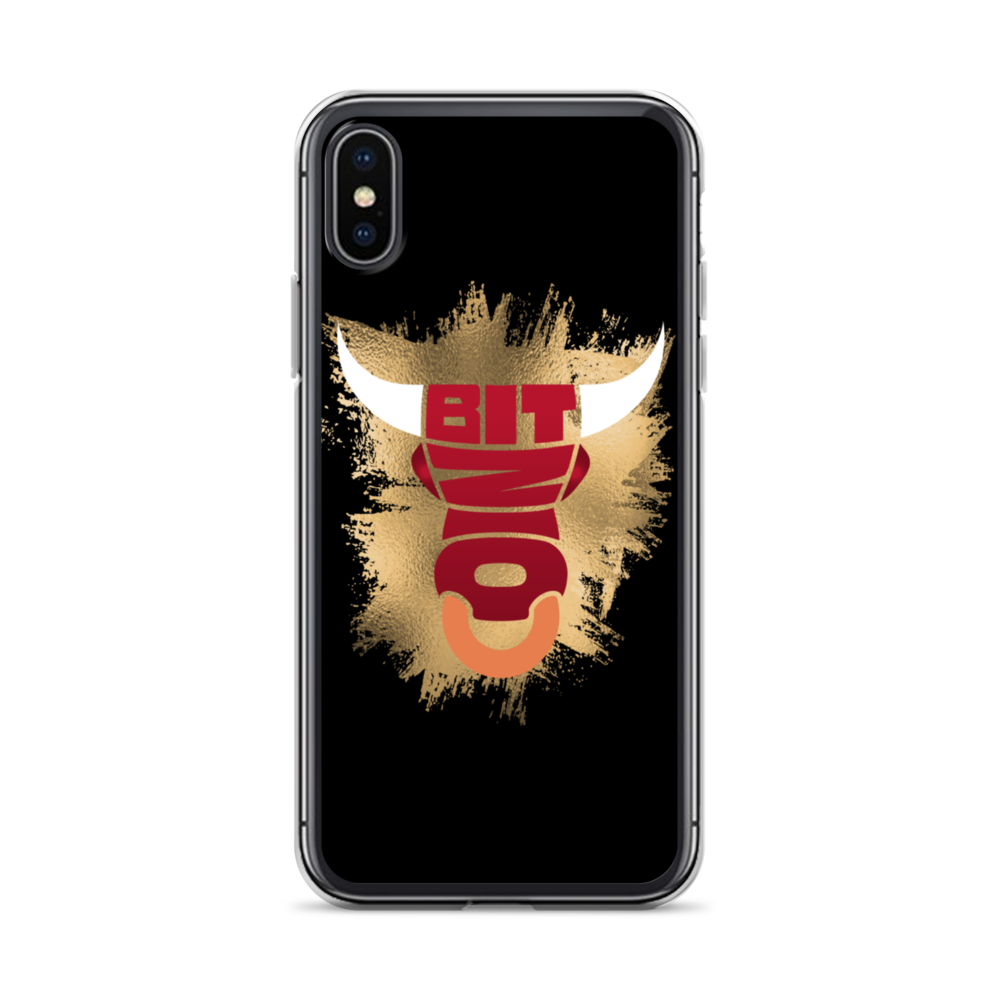 Bitcoin Bull iPhone Case iPhone X/XS  - zeroconfs