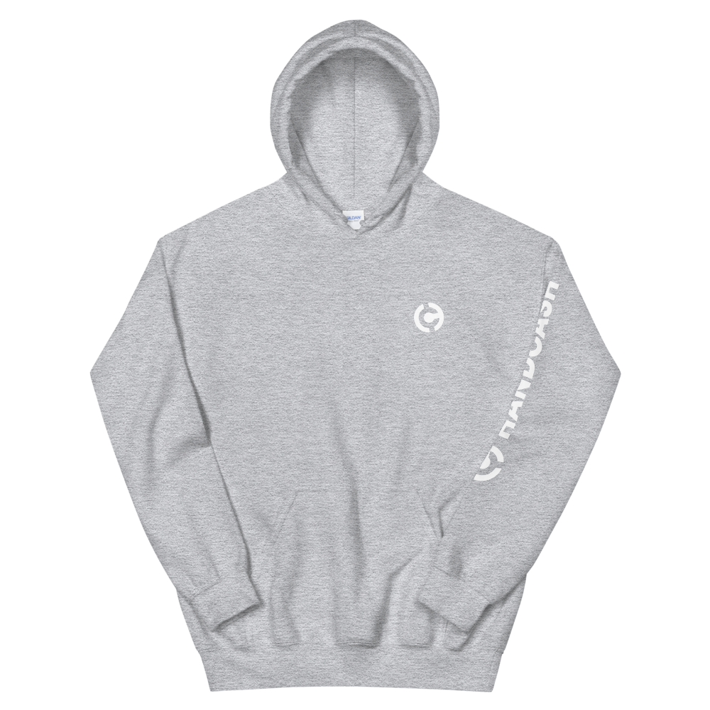 HandCash Official Licensed Hooded Sweatshirt Sport Grey S - zeroconfs