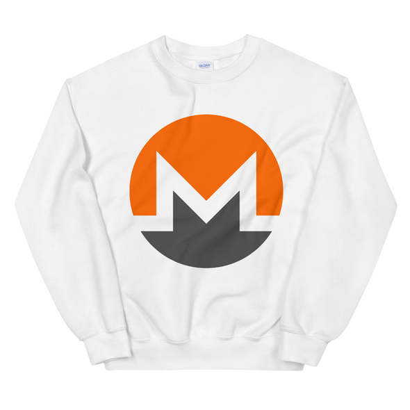 Monero Women's Sweatshirt White S - zeroconfs