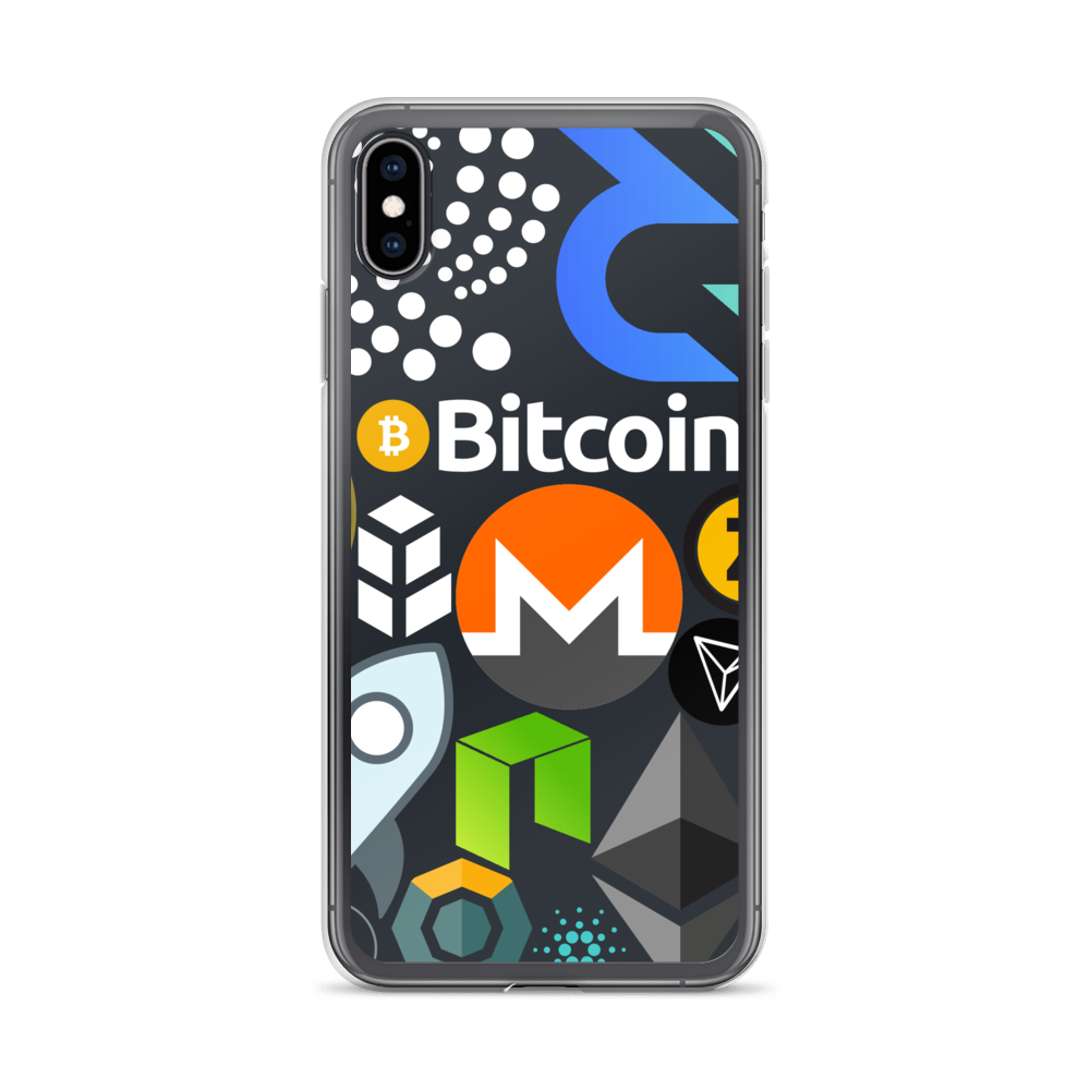 Crypto Calling iPhone Case iPhone XS Max  - zeroconfs