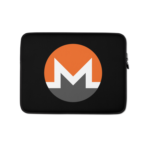 Monero Laptop Sleeve 13 in  - zeroconfs