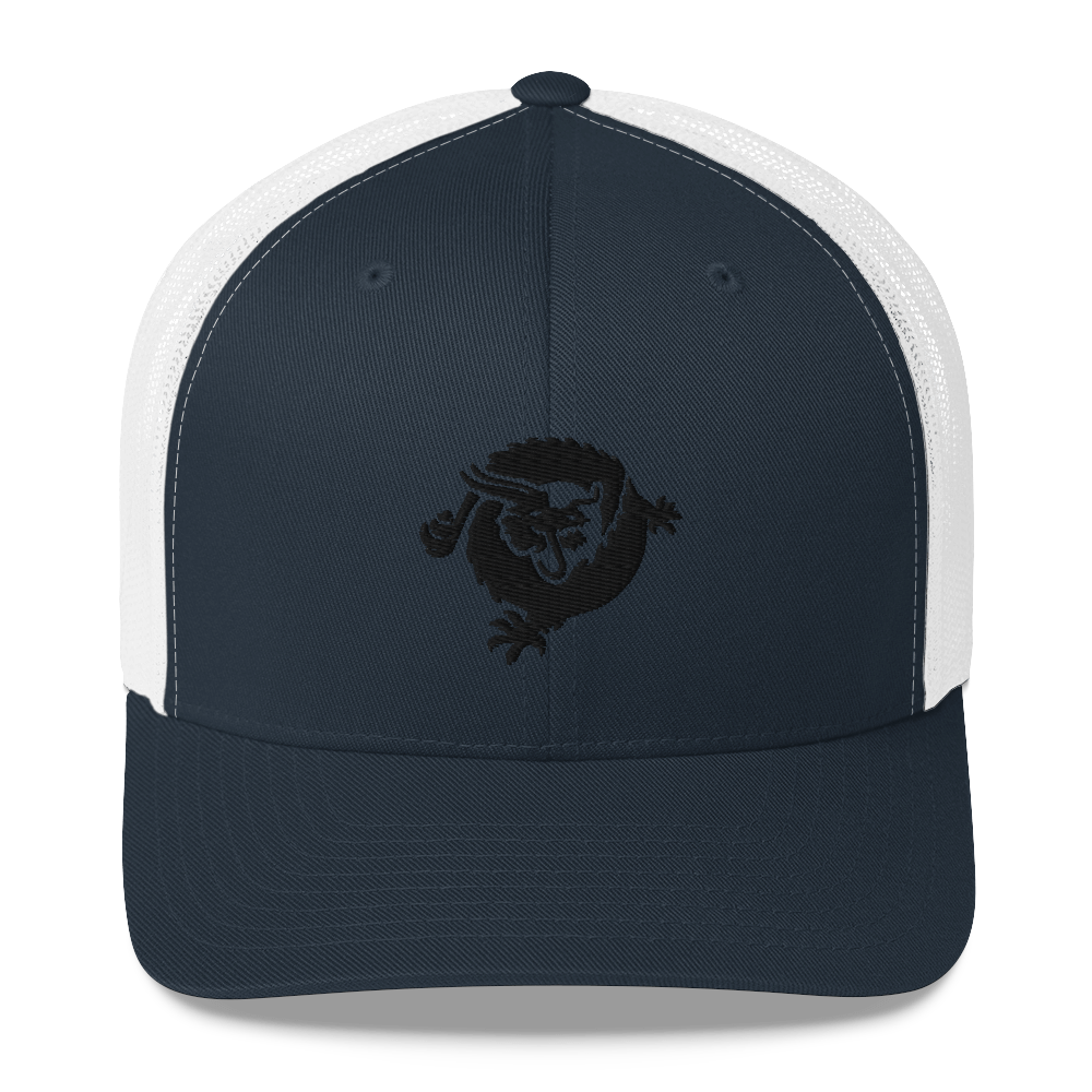 Bitcoin SV Dragon Trucker Cap Black Navy/ White  - zeroconfs