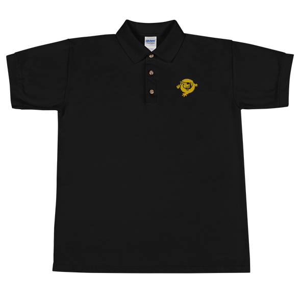 Bitcoin SV Dragon Embroidered Polo Shirt Black S - zeroconfs