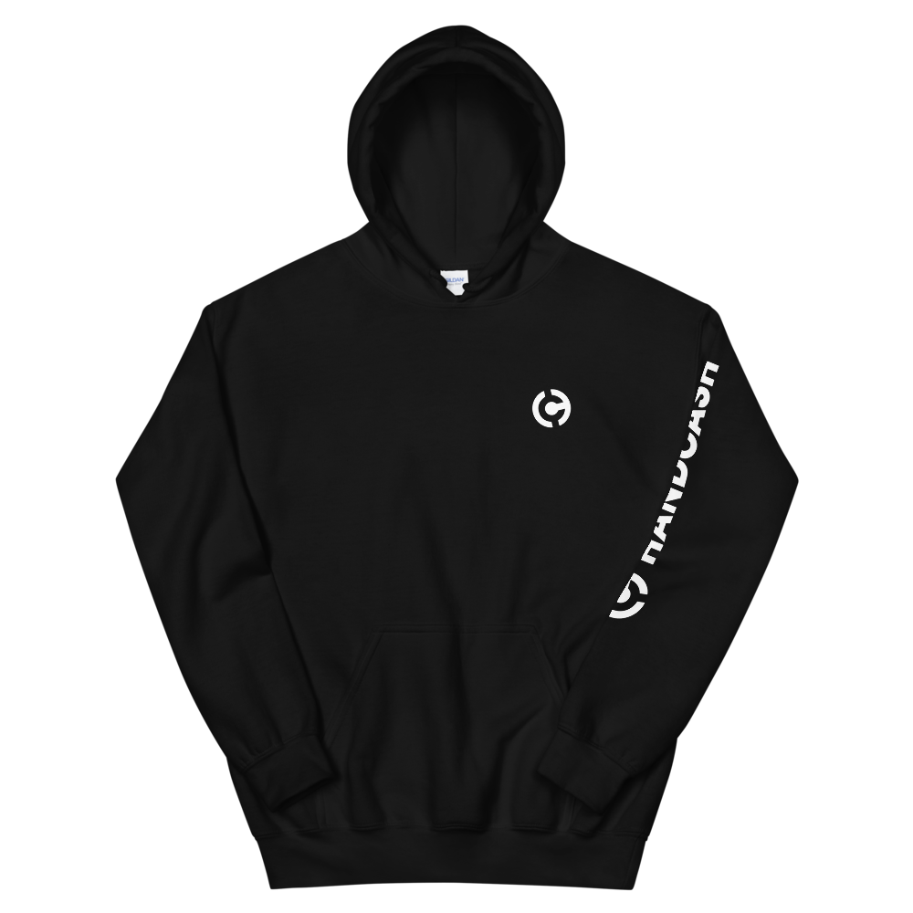 HandCash Official Licensed Hooded Sweatshirt Black S - zeroconfs