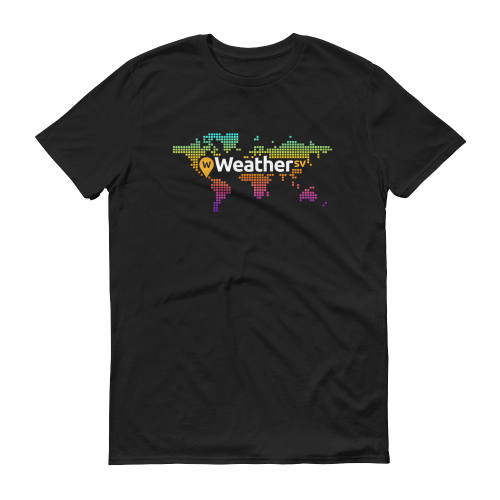 Weather SV Short-Sleeve T-Shirt Black S - zeroconfs